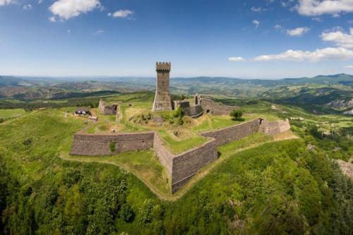 Radicofani: About 40 km from Pian della Bandina