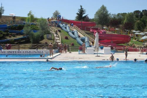 Water park: About 20 km from Pian della Bandina