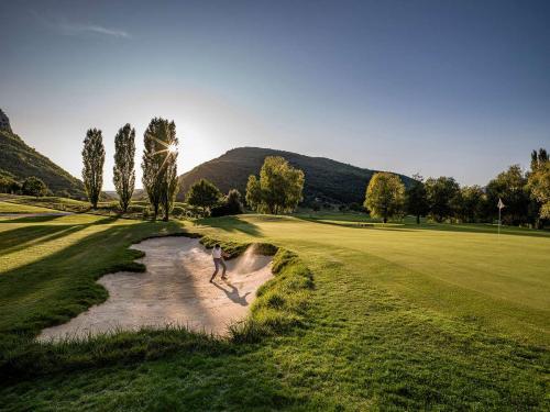 Golf: Etwa 25 km von Pian della Bandina