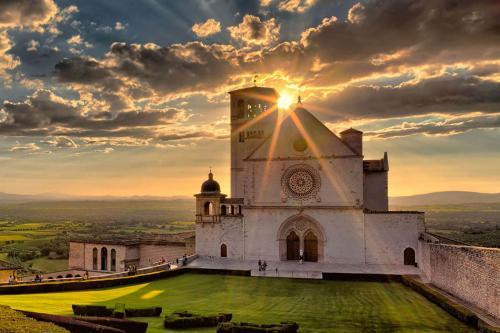 Assisi: Etwa 70 km von Pian della Bandina