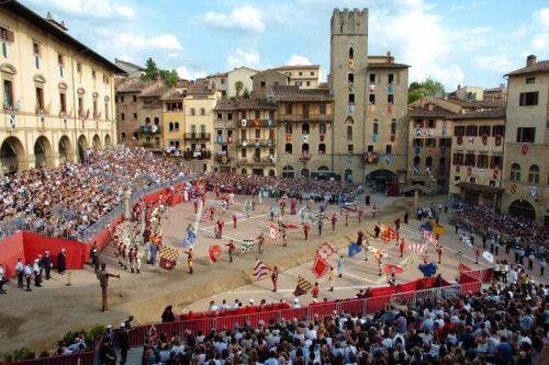 Arezzo: About 80 km from Pian della Bandina