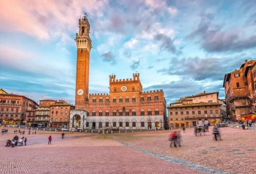 Siena: Etwa 95 km von Pian della Bandina