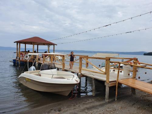 Lago di Bolsena: Etwa 65 km von Pian della Bandina