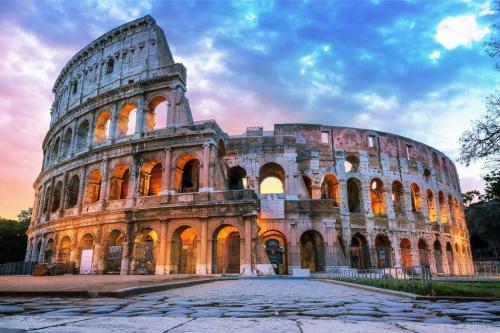 * Rom: Etwa 150 km von Pian della Bandina