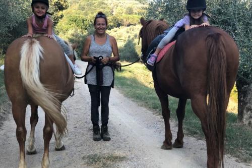 Paardrijden: Ongeveer 6 km van Pian della Bandina